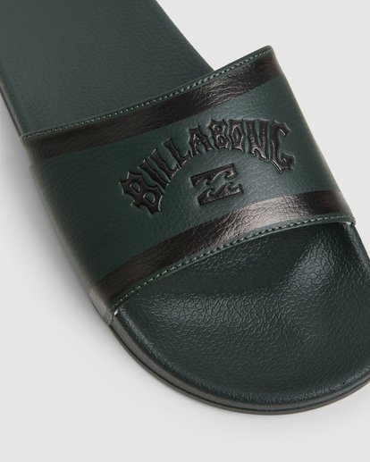 6 Pool Slides Green 9607945X Billabong