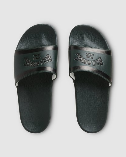 7 Pool Slides Green 9607945X Billabong