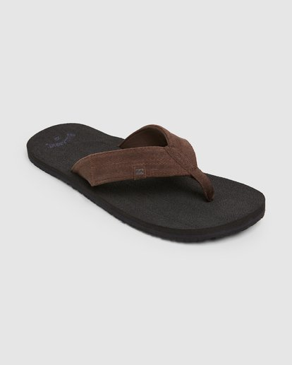 1 Seaway Suede Thongs Black 9607950 Billabong