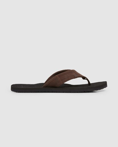 3 Seaway Suede Thongs Black 9607950 Billabong