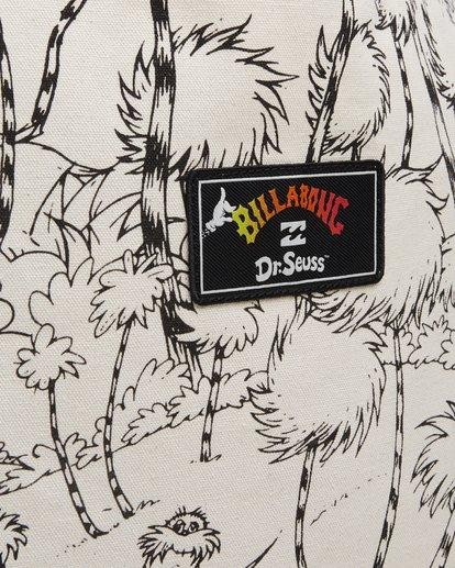 4 Dr. Seuss Truffula Bag Black 9608001 Billabong