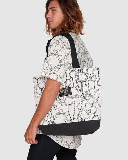 5 Dr. Seuss Truffula Bag Black 9608001 Billabong