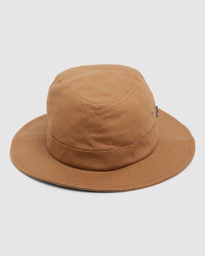 3 Smoko Bucket Hat Yellow 9608302 Billabong