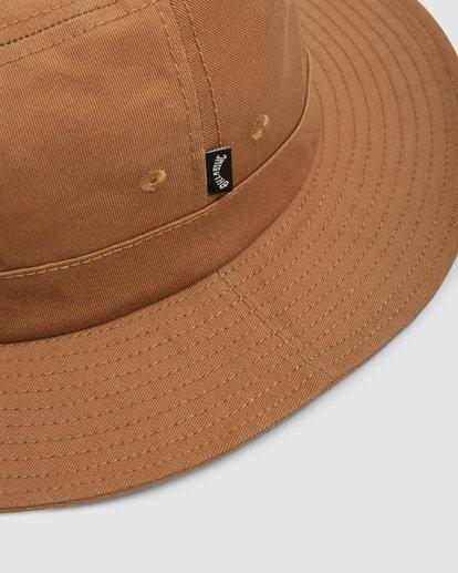 4 Smoko Bucket Hat Yellow 9608302 Billabong