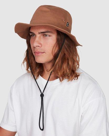 5 Smoko Bucket Hat Yellow 9608302 Billabong
