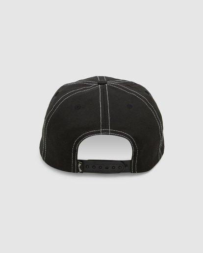 2 Carter Snapback Cap Black 9608304 Billabong