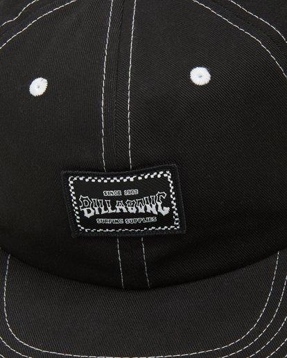 4 Carter Snapback Cap Black 9608304 Billabong