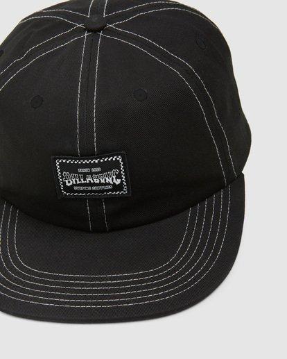 5 Carter Snapback Cap Black 9608304 Billabong