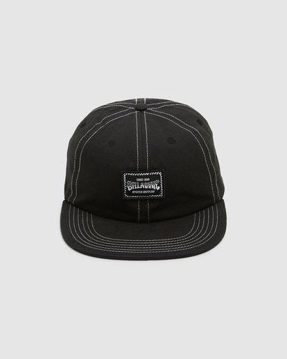 1 Carter Snapback Cap Black 9608304 Billabong