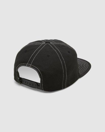 3 Carter Snapback Cap Black 9608304 Billabong