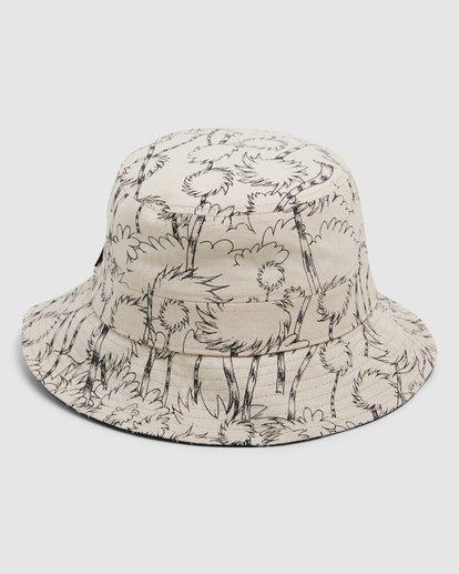 3 Dr. Seuss Truffla Sun Bucket Hat Black 9608331 Billabong