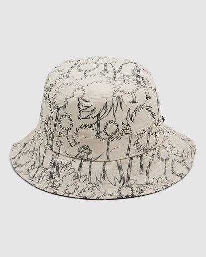 2 Dr. Seuss Truffla Sun Bucket Hat Black 9608331 Billabong