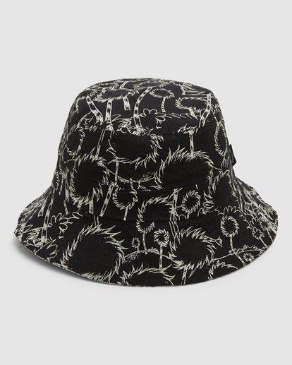 1 Dr. Seuss Truffla Sun Bucket Hat Black 9608331 Billabong