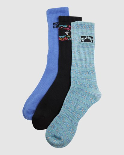 10 Instinct Socks 3 Pack Multicolor 9608607 Billabong