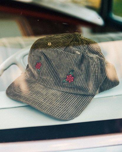 0 Wrangler Rose Garden Strapback Cap Brown 9613310 Billabong