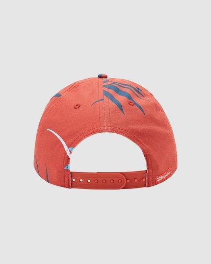 3 Budweiser Vacay Snapback Hat Red 9613331 Billabong