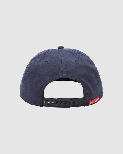 3 Budweiser Insignia Snapback Hat Blue 9613334 Billabong