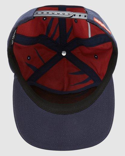 4 Budweiser Insignia Snapback Hat Blue 9613334 Billabong