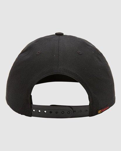 3 Budweiser Bow Snapback Hat Black 9613335 Billabong