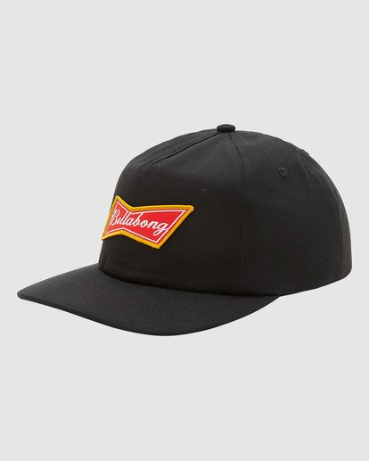 1 Budweiser Bow Snapback Hat Black 9613335 Billabong
