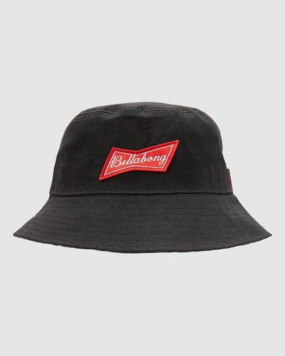 5 Budweiser Bow Bucket Hat Black 9613337 Billabong