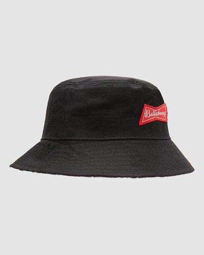 7 Budweiser Bow Bucket Hat Black 9613337 Billabong