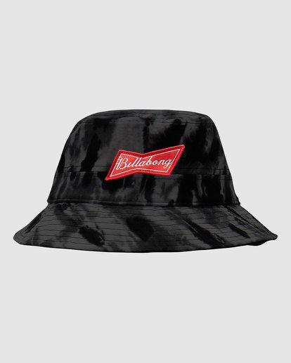 0 Budweiser Bow Bucket Hat Black 9613337 Billabong