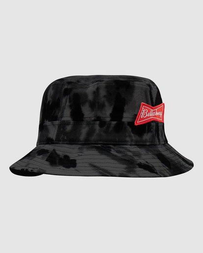 1 Budweiser Bow Bucket Hat Black 9613337 Billabong