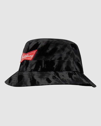 2 Budweiser Bow Bucket Hat Black 9613337 Billabong