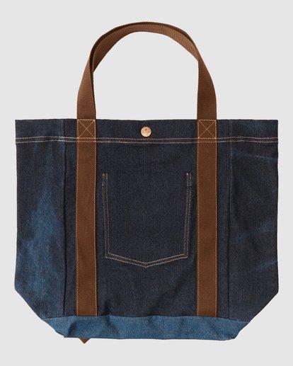 8 Wrangler Hemp Denim Tote Bag Blue 9613506 Billabong