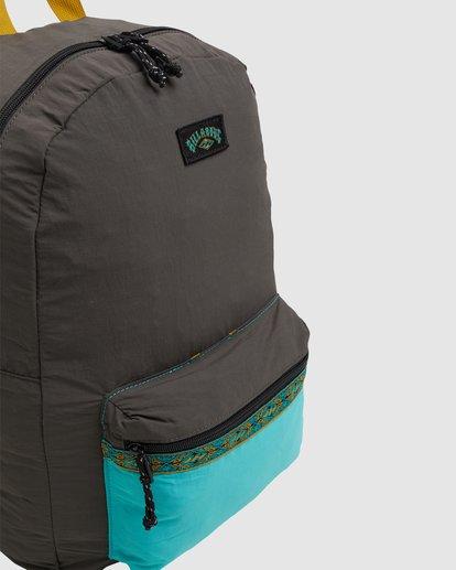 4 Currents Packable Backpack Black 9617003 Billabong