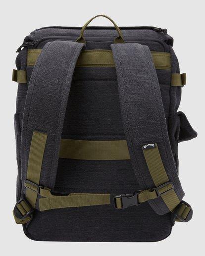 3 Kings Hemp Rucksack Backpack Black 9617004 Billabong