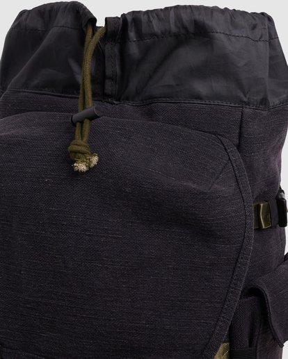 4 Kings Hemp Rucksack Backpack Black 9617004 Billabong
