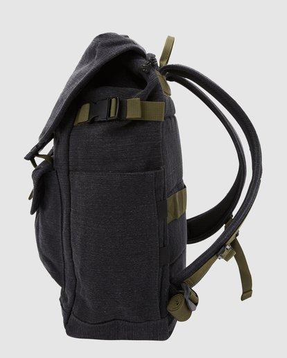 1 Kings Hemp Rucksack Backpack Black 9617004 Billabong