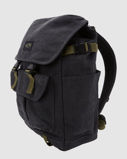 2 Kings Hemp Rucksack Backpack Black 9617004 Billabong