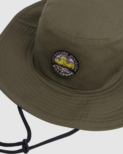 3 Adventure Division Bucket Hat Green 9617316 Billabong