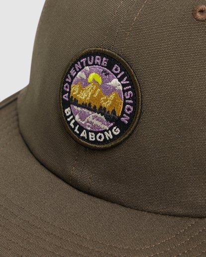 4 Adventure Division Snapback Cap Green 9617317 Billabong