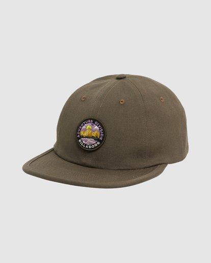 1 Adventure Division Snapback Cap Green 9617317 Billabong