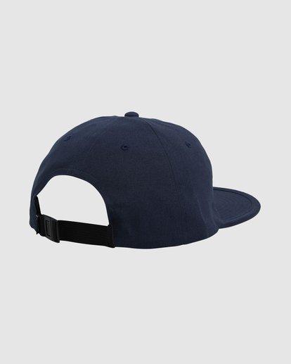 2 Adventure Division Snapback Cap Blue 9617317 Billabong