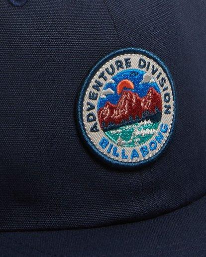 4 Adventure Division Snapback Cap Blue 9617317 Billabong