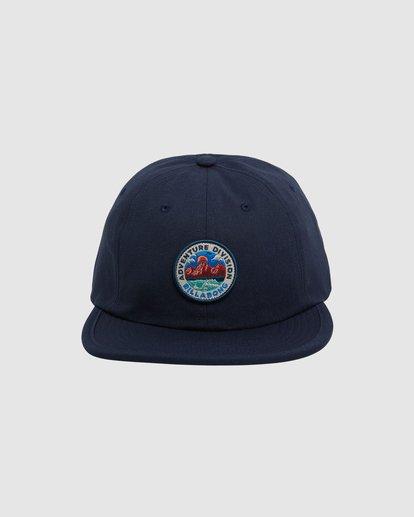 0 Adventure Division Snapback Cap Blue 9617317 Billabong