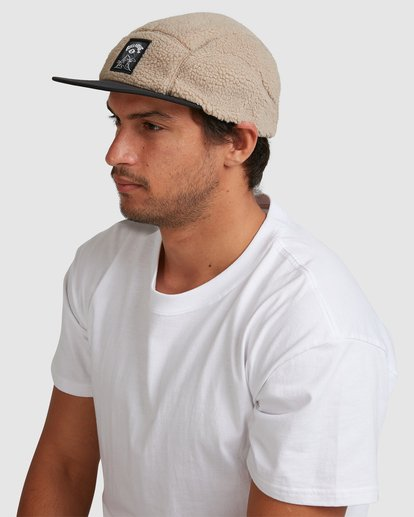 5 Eyesolation Adiv Strapback Cap Beige 9617340 Billabong