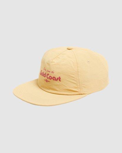 1 GDAY GC SNAPBACK Yellow 9617376 Billabong