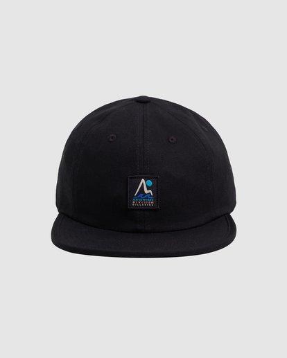 0 A/DIV Tour Division Snapback Cap Black 9618315 Billabong