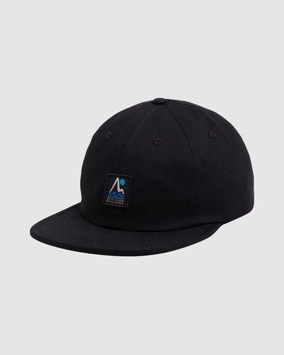 3 A/DIV Tour Division Snapback Cap Black 9618315 Billabong