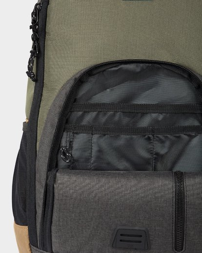3 COMMAND BACKPACK Green 9671002 Billabong