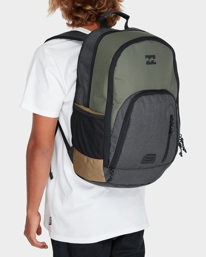4 COMMAND BACKPACK Green 9671002 Billabong