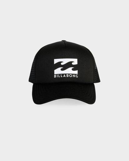 1 Podium Trucker Cap Black 9675306 Billabong