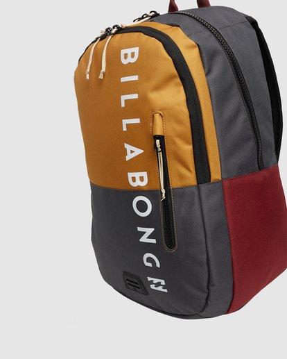 4 Norfolk Backpack White 9681008 Billabong