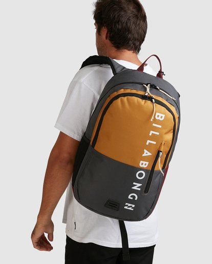 5 Norfolk Backpack White 9681008 Billabong